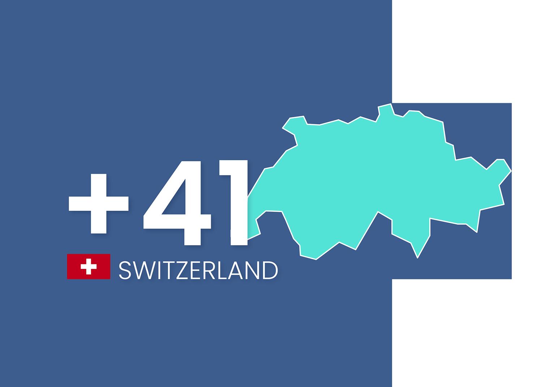 Virtual phone number in Switzerland